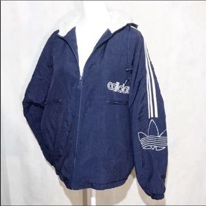 Adidas Vintage 80's Quilted Jacket Size M